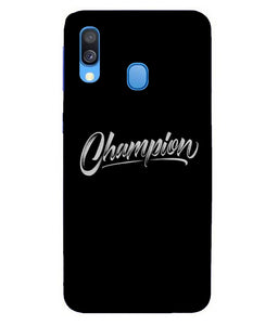 Samsung A40 Champion mobile cover
