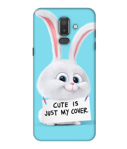 Samsung Galaxy J8 Bunny mobile cover
