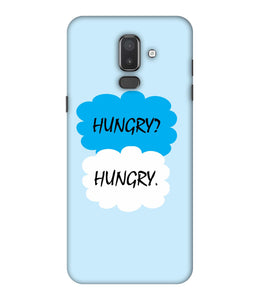Samsung Galaxy J8 Hungry mobile cover