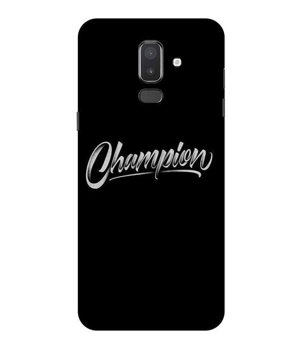Samsung Galaxy J8 Champion mobile cover