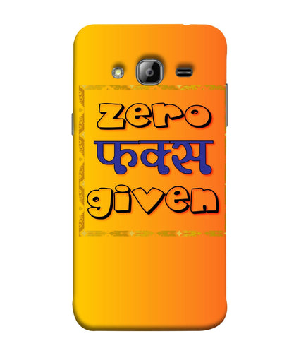 Samsung J3 Zero F's Given Mobile Cover
