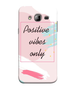 Samsung J3 Positive Vibes Only Mobile Cover