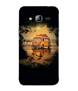 Samsung J3 Sunset mobile cover