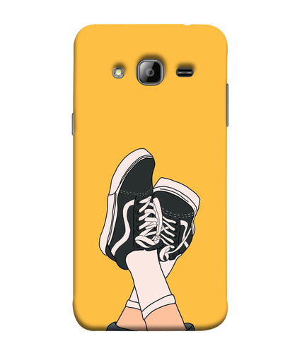 Samsung J3 Shoes mobile cover