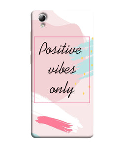 Vivo 51L Positive Vibes only Mobile Cover