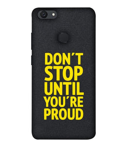 Vivo V7 Don't Stop Mobile cover