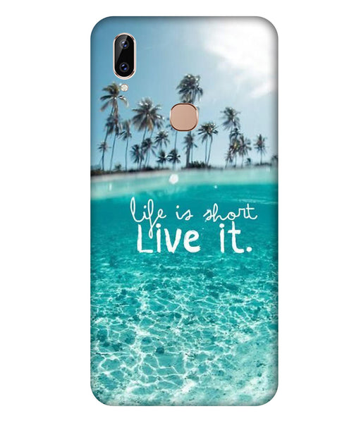 Vivo Y83 Pro Live Life Mobile Cover