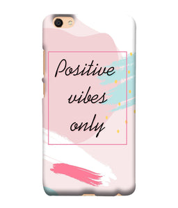 Vivo Y66 Positive Vibes only Mobile Cover