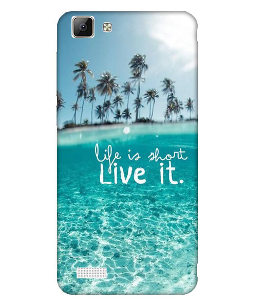 Vivo V1 Live Life Mobile Cover