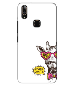 Vivo V9 Hipster Giraffe Mobile Cover