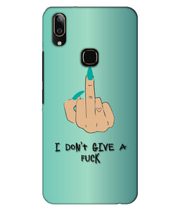 Vivo V9 I Don't Give a Fuck Mobile Cover
