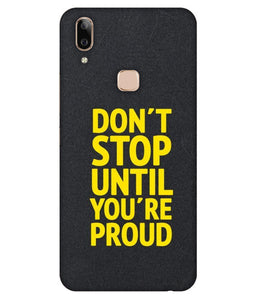Vivo V9 Don't Stop  mobile cover