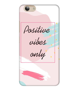Vivo Y53i Positive Vibes only Mobile Cover