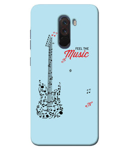 Xiaomi Poco F1 Music mobile cover