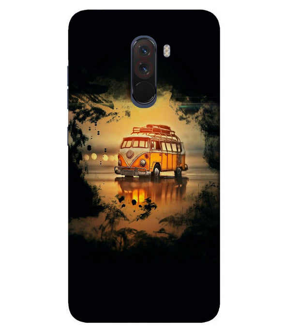 Xiaomi Poco F1 Sunset mobile cover