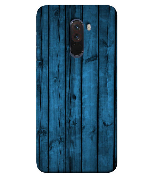 Xiaomi Poco F1 Bluewood mobile cover