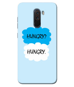 Xiaomi Poco F1 Hungry mobile cover