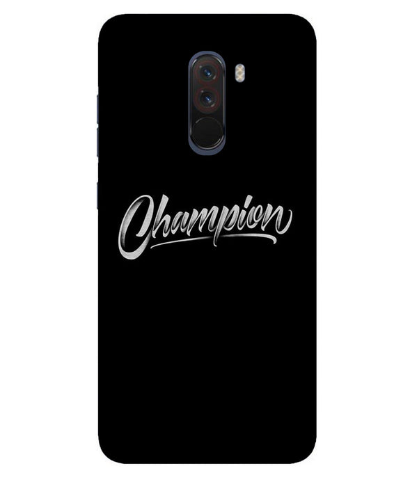 Xiaomi Poco F1 Champion mobile cover