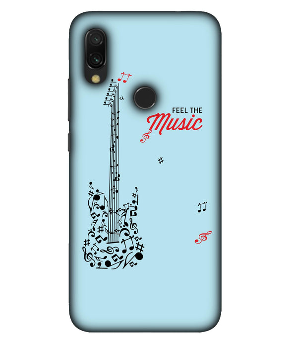 Redmi 7 Music Mobile Cover
