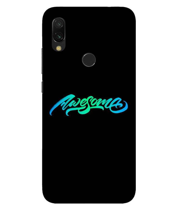 Redmi 7 Awesome Mobile Cover