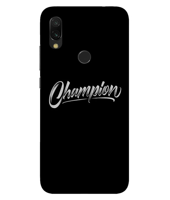 Redmi 7 Champion Mobile Cover