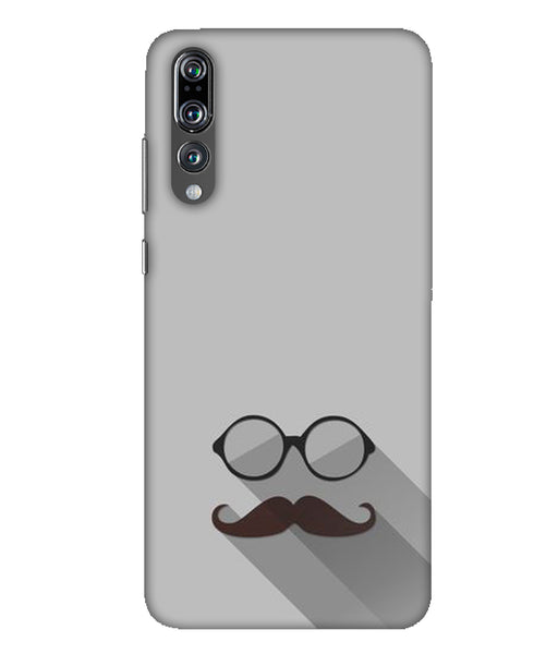 Huawei P20 Pro beard with sunglasses mobile cover