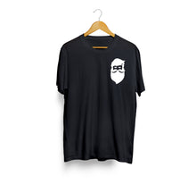 Load image into Gallery viewer, Shine Beard Black Pocket T-Shirt