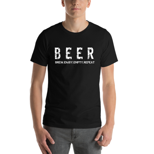 Black Beer Casual T-Shirt