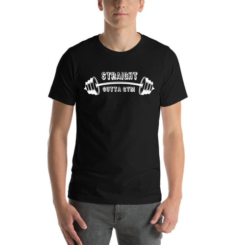 Black Gym Casual T shirt