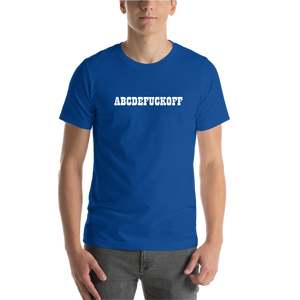 Blue ABCD Casual T shirt