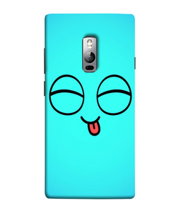 One Plus 2 Blue Cute Mobile cover