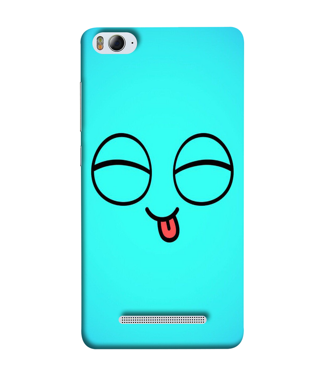 Xiaomi MI4I blue cute mobile cover