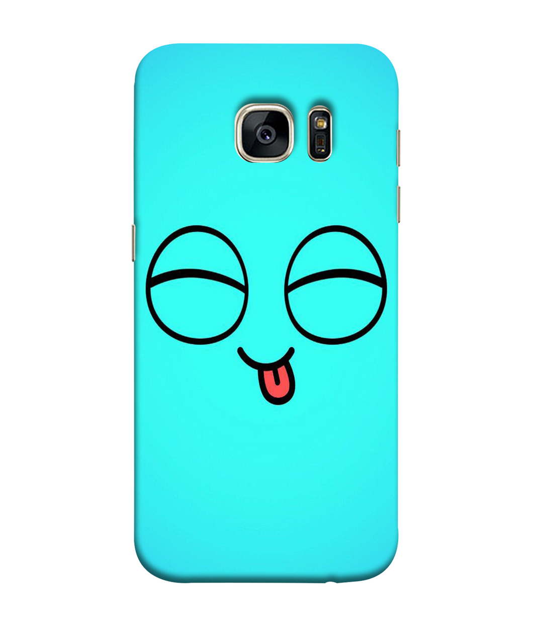Samsung Galaxy S7 Blue Cute Mobile cover