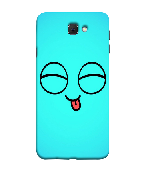 Samsung Galaxy J7 Prime Blue Cute Mobile cover