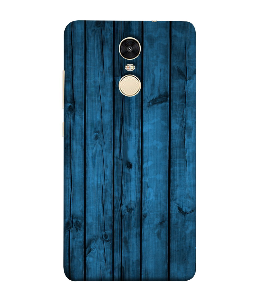 Redmi Note 5 Blue Wood mobile cover
