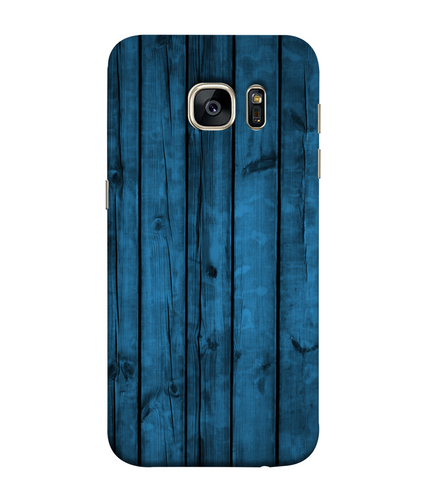 Samsung Galaxy S7 Blue Woods Mobile cover