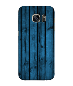 Samsung Galaxy S7 Edge Blue Woods Mobile cover