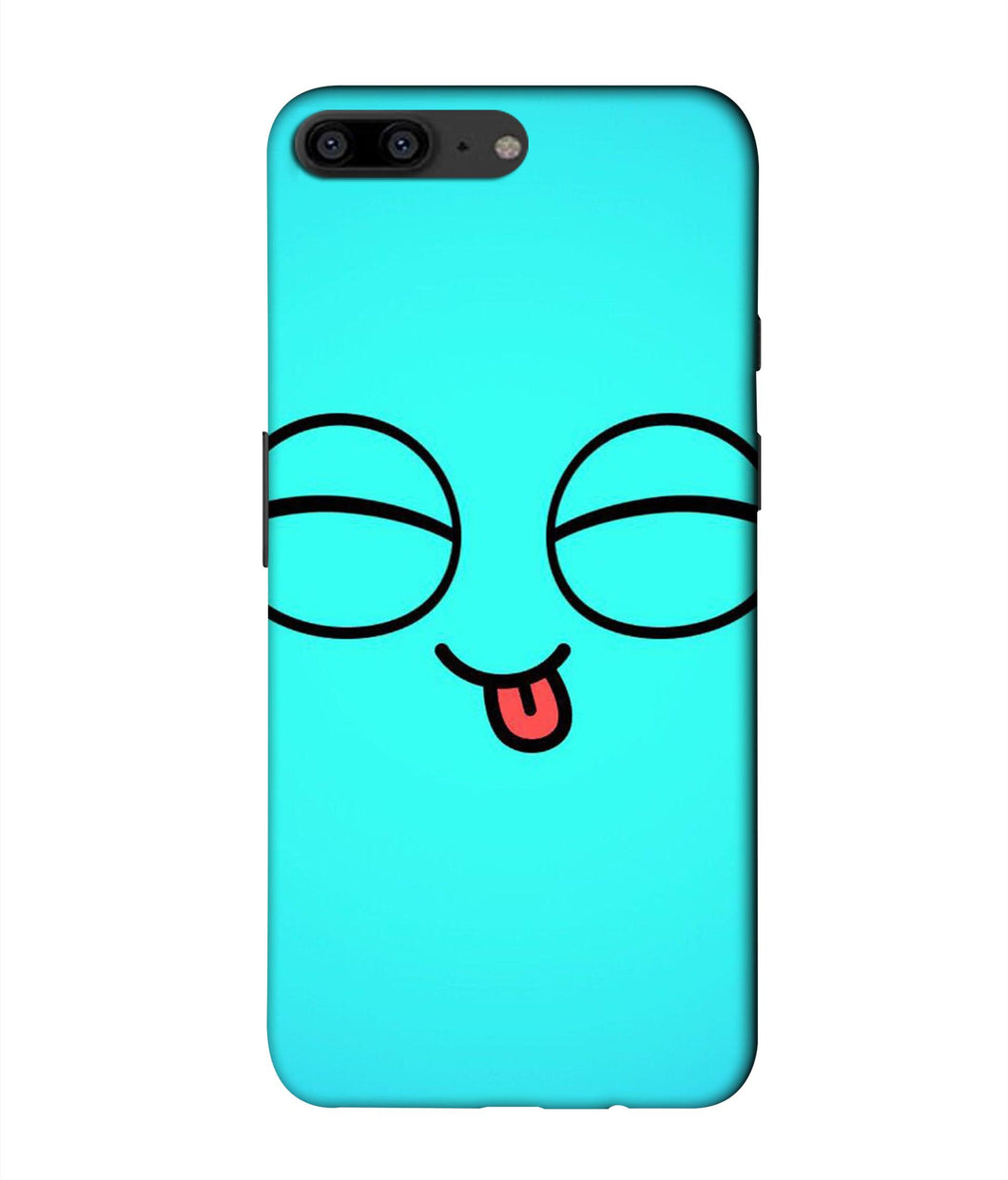 One plus 5 Blue Cute Mobile cover