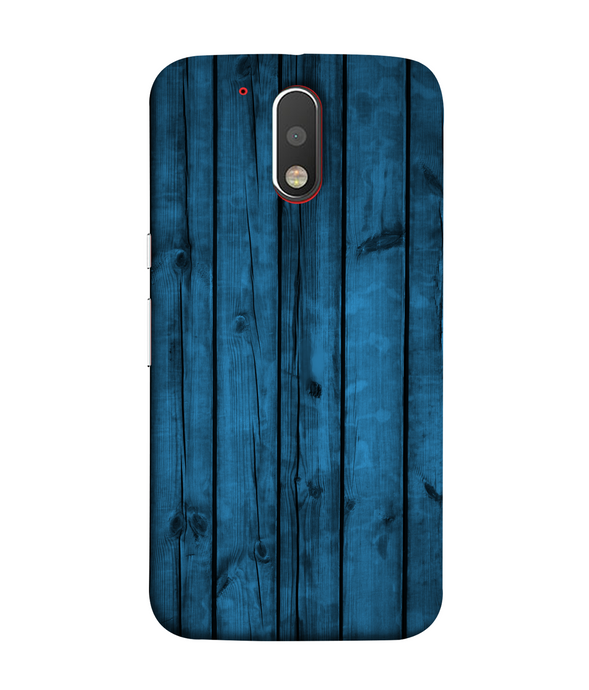 Moto G4 Blue Woods Mobile cover