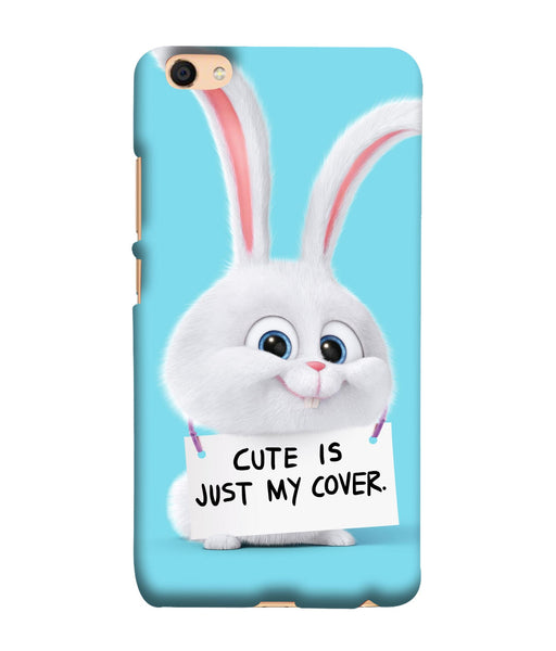 Oppo F3 Bunny mobile cover