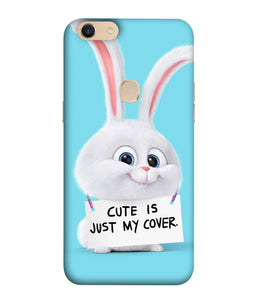 Oppo F5 Plus Bunny mobile cover