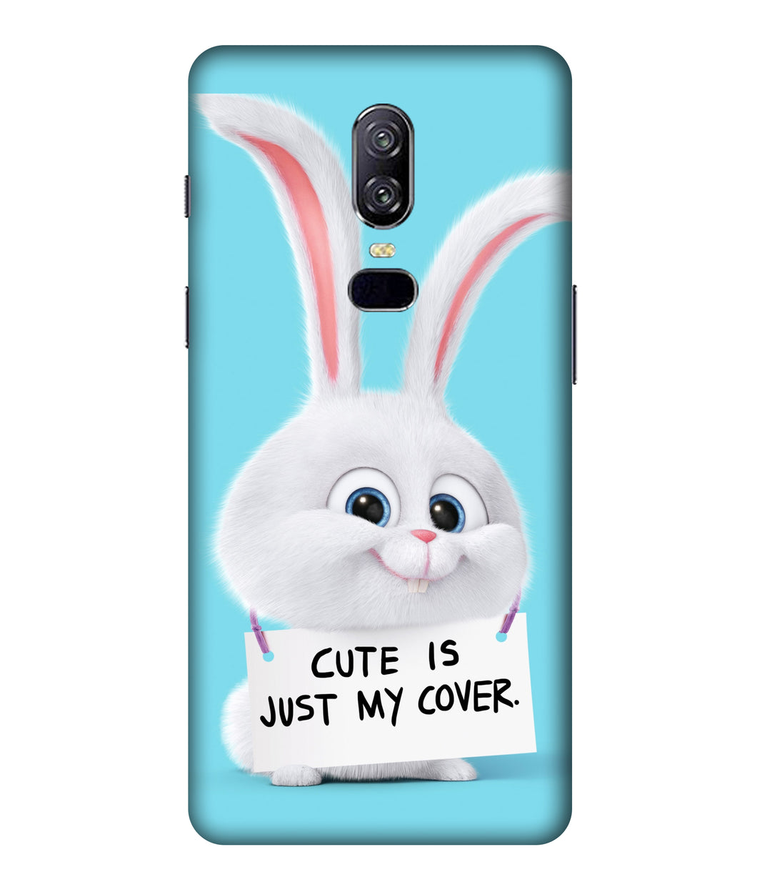 One plus 6 Bunny Mobile cover
