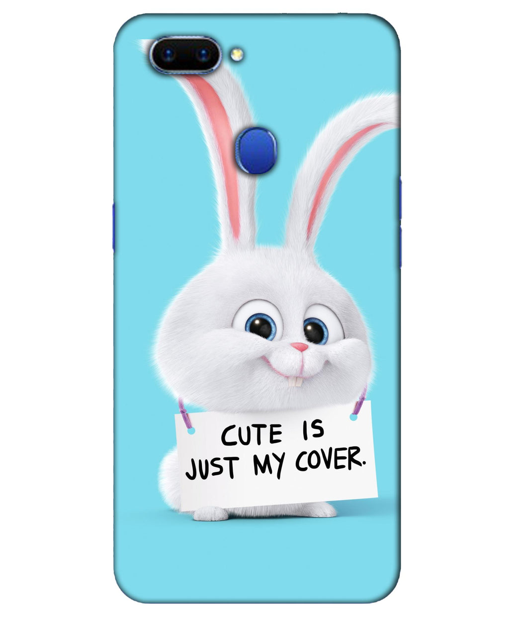 Oppo F9 Pro Bunny mobile cover