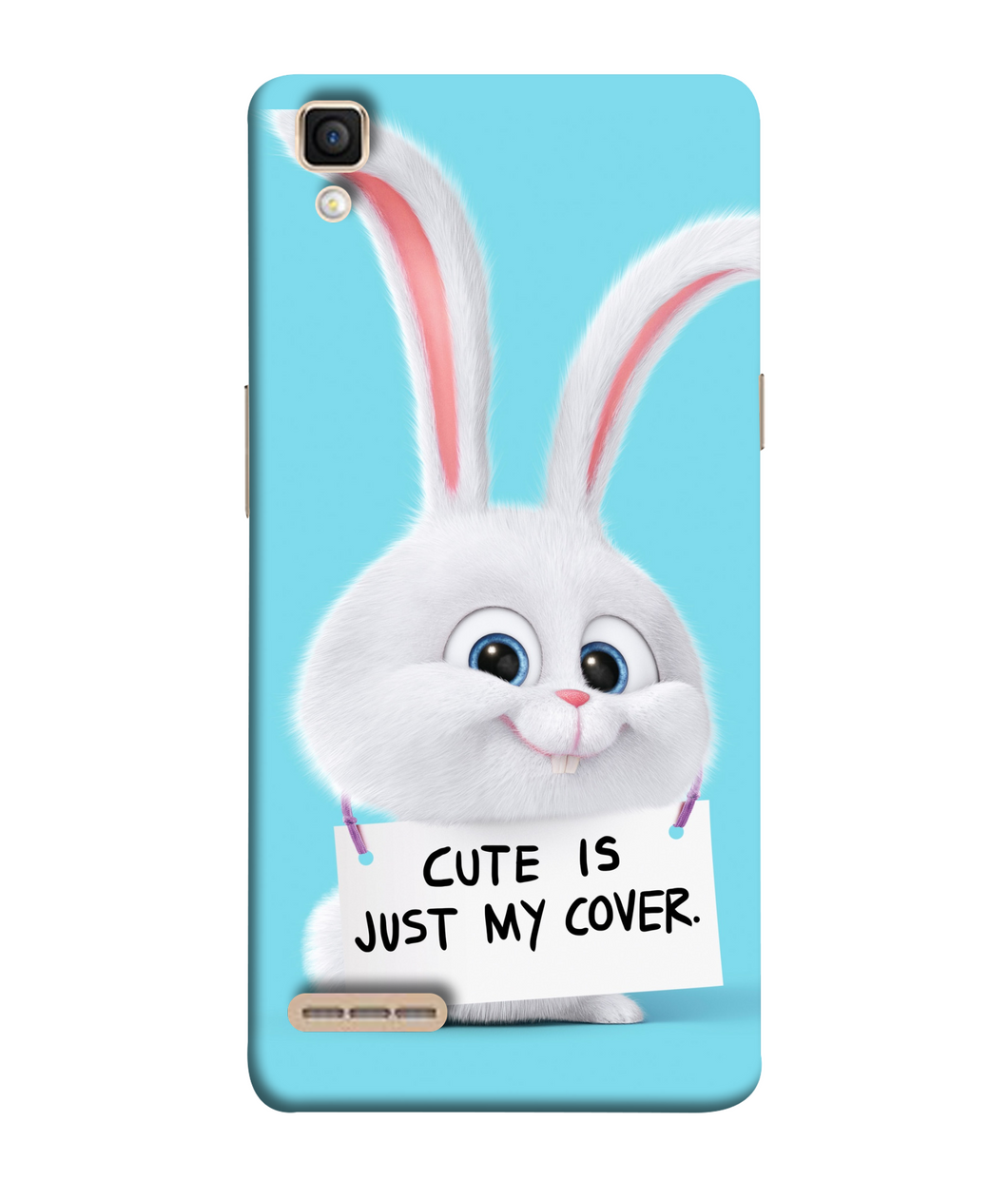 Oppo F1 Bunny mobile cover