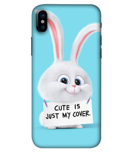 Apple Iphone X Bunny Mobile cover