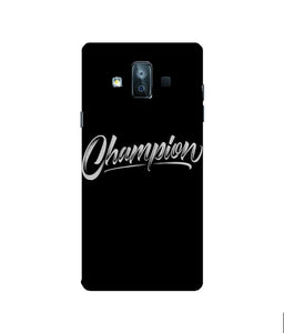 Samsung Galaxy J7 Duo Champion Mobile cover