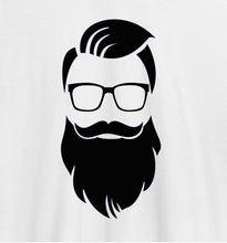 Load image into Gallery viewer, Dude Beard Red Casual T-Shirt
