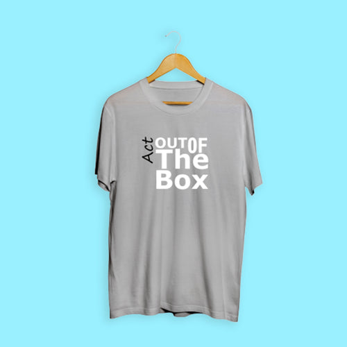 Act Out Of The Box Grey T-Shirt