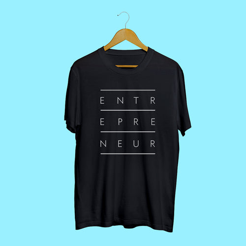 Entrepreneur Black Casual T-Shirt