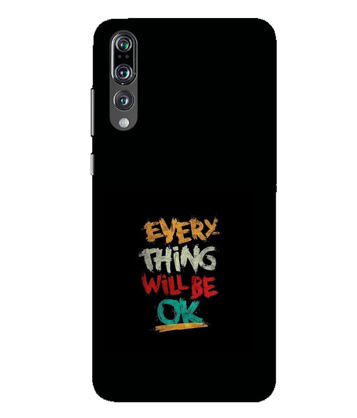 Huawei P20 Pro evry thik will be ok mobile cover
